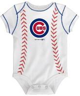 MLB Chicago Cubs Boys' 3pk Bodysuit Crawlers