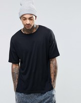 Asos Loungewear Oversized T-Shirt In Lightweight Fabric