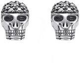 Thomas Sabo Rebel at heart Skull Diamond Stud Earrings