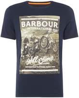 Men's Barbour Union Jack Print T Shirt
