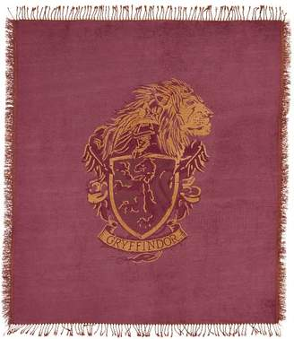 Pottery Barn Teen HARRY POTTER Chenille Crest Throw, 50X60, RAVENCLAW