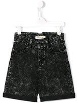 Andorine - acid fade shorts - kids - Cotton/Polyester/Spandex/Elastane - 2 yrs
