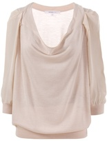 VANESSA BRUNO - Cowl neck fine knit top
