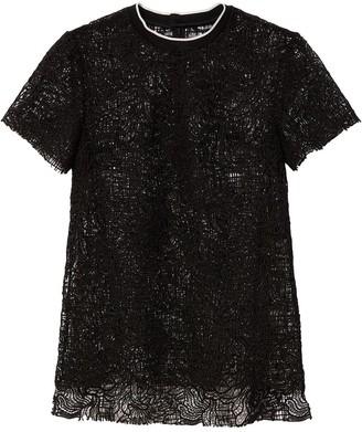 Proenza Schouler floral lace T-shirt