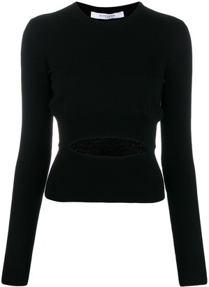 Givenchy Cut-Out Detail Knitted Sweater