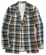 Tommy Hilfiger Final Sale- Linen Madras Blazer