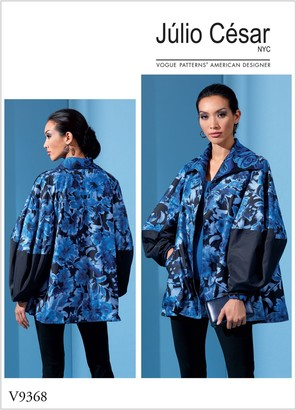 Vogue Women's Jacket Sewing Pattern, 9368