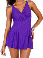 Miraclesuit Violet Aurora Skirted One-Piece