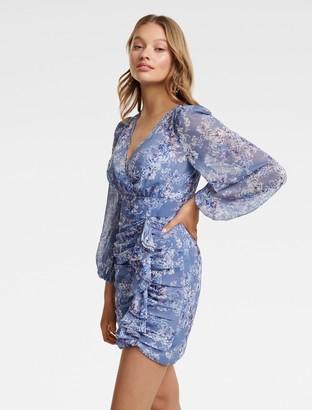 Ever New Tassa Floral Mini Dress