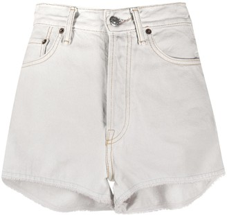 Acne Studios High-Rise Denim Shorts