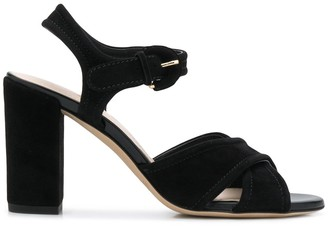 Tod's Strappy 90mm Block Heel Sandals