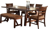 Asstd National Brand Bear River 6-pc. Dining Table Set