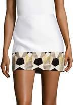 Versace Women's Gonna Tessuto Mini Skirt