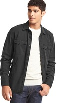 Gap Stretch utility shirt jacket