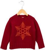 Petit Bateau Boys' Crew Neck Wool Sweater