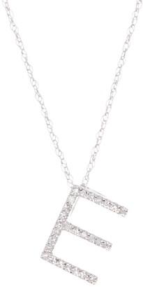 Ron Hami Large Diamond Letter Slider Necklace
