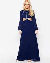 Jarlo Maxi Dress With Cut Out Detail