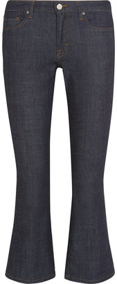 Victoria Victoria Beckham Cropped Mid-rise Bootcut Jeans