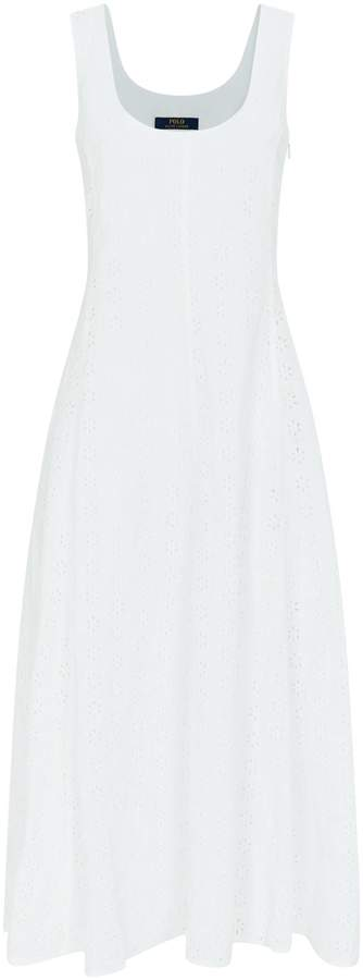 Polo Ralph Lauren Eyelet Lace Sleeveless Dress
