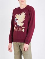 Evisu Phoenix cotton-jersey sweatshirt