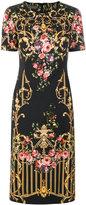 Alberta Ferretti floral print dress
