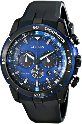 Citizen Eco-Drive Men's CA4155-12L Ecosphere Analog Display Black Watch