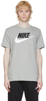 Nike Grey Icon Futura T-Shirt