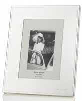 "Kate Spade Darling Point Silver 5"" x 7"" Frame"