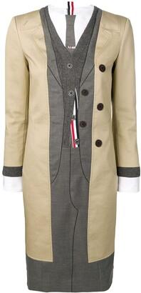 Thom Browne Tromp L'oeil Suit Pitti Dress