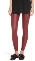 Yummie by Heather Thomson Women's Tony Faux Leather Leggings