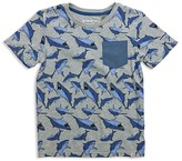 Sovereign Code Boys' Shark Print Tee - Big Kid