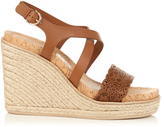 Salvatore Ferragamo Gioela espadrille wedge sandals