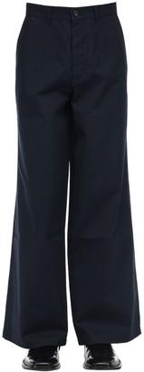 Balenciaga Baggy Cotton Gabardine Chino Pants