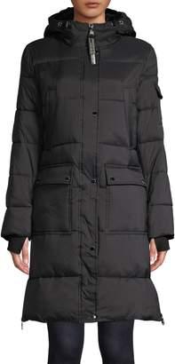 Calvin Klein Faux Fur Lined Long Parka Jacket