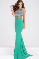 Jovani Mermaid Beaded Bodice Prom Dress JVN36888