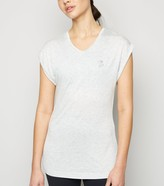 Thumbnail for your product : New Look GymPro Roll Sleeve Sports T-Shirt