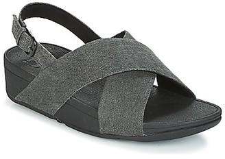 FitFlop LULU CROSS BACK-STRAP SANDALS women's Sandals in Black