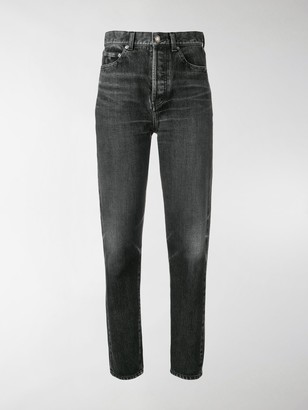 Saint Laurent High-Rise Boyfriend Jeans