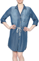Glam Chambray Tie Dress