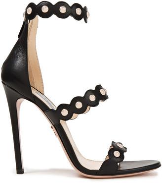 Prada Studded Leather Sandals