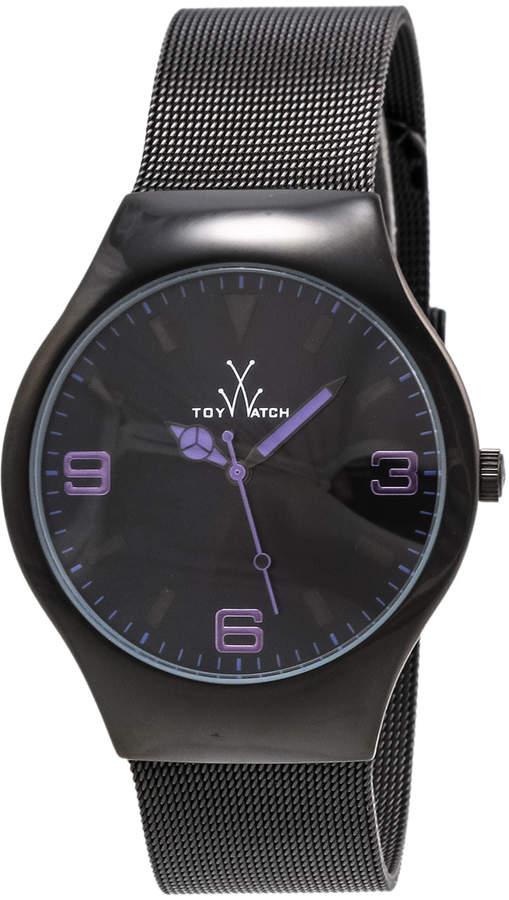 Toy Watch Toywatch Black Mesh Bracelet Watch, Purple