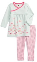 Tea Collection Infant Girl's Kaleidoscope Top & Leggings Set