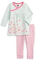 Tea Collection Infant Girl's Kaleidoscope Top & Leggings Set