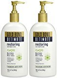 Gold Bond Ultimate Restoring Skin Therapy Lotion with CoQ10 - Naturally Fresh - 13 oz - 2 pk