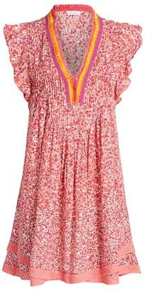 Poupette St Barth Sasha Ditsy Floral Dress