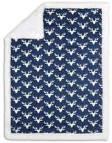 The Peanut Shell Woodland Trails Blanket in Navy