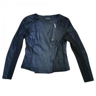Gestuz Black Leather Jackets