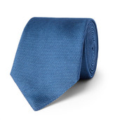 HUGO BOSS 7.5cm Woven Silk Tie