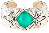 Stephen Webster Spiked Crystal Haze Quartz Cuff Bracelet