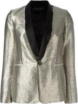 Christian Pellizzari shinny blazer